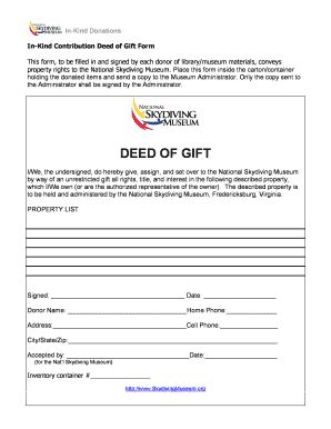 deed of gift template australia deed of gift form museum templates fillable printable