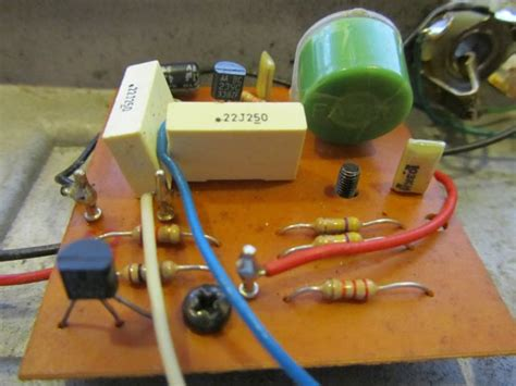 green fasel inductor vintage cry baby made in italy schenker andy wolf