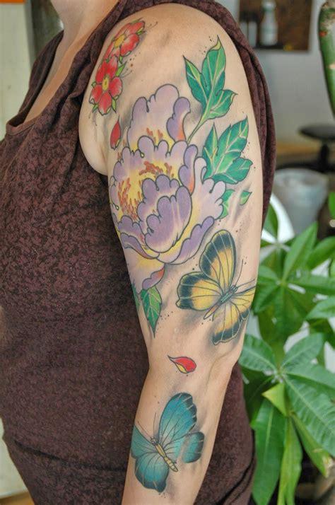 tattoo my photo com k 246 rperkunst tattoo blog schmetterling blumen tattoo