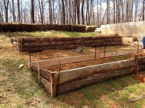 terraced garden beds house ideas pinterest