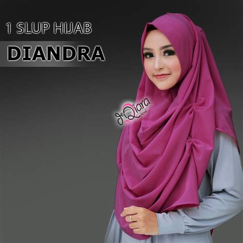 Jilbab Instan 1 Slup jilbab instan modis diandra terbaru harga murah bundaku net
