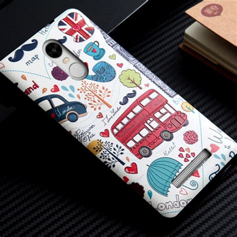 Silicon Casing Hardcase 3d Xiaomi Redmi 3 Redmi 3 Pro 3d relief sculpture shell back cover for redmi note 3