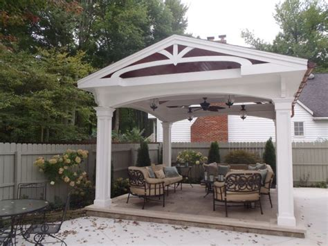 Painted Wood Ceilings by Freestanding Gazebo Covered Patio Gt Residential Gt Projects