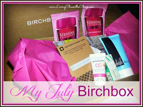 Birchbox Gift Card - birchbox box filled with beauty items only 10 shipped great last minute gift idea