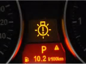 dashboard warning lights meaning