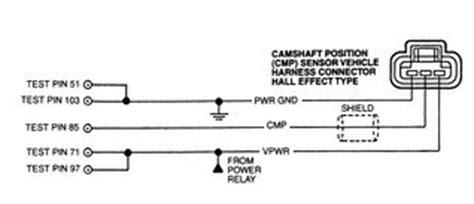Sensor Ckp Vios 2003 2006 cmp camshaft position sensor testing freeautomechanic