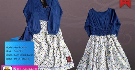 Gamis Anak Oka Oke Terbaru model baju busana muslim anak perempuan terbaru oka oke