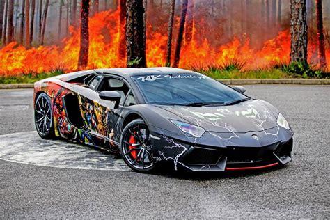 Lamborghini Aventador Wrap Gallery Lamborghini Aventador Roadster With Wrap