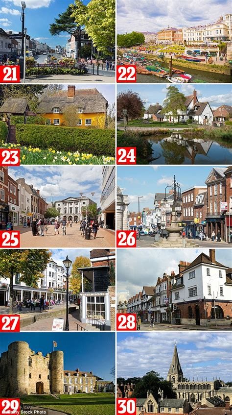 best small towns to live in the south hshire district retains the top spot in the 50 best