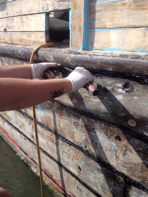 wooden boat caulking caulking wooden boats to achieve a dry bilge