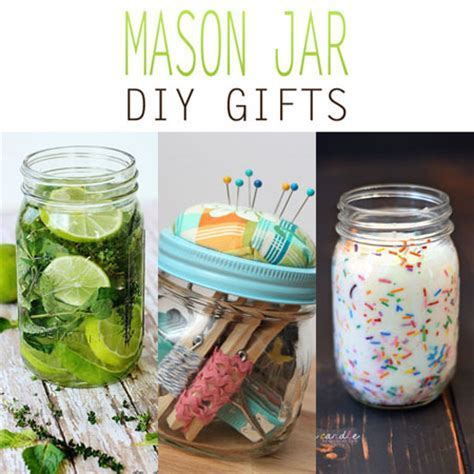 Mason Jar DIY Gifts   The Cottage Market