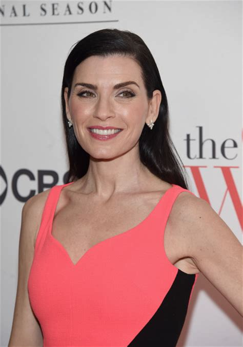 julianna margulies new hair cut julianna margulies long side part long side part