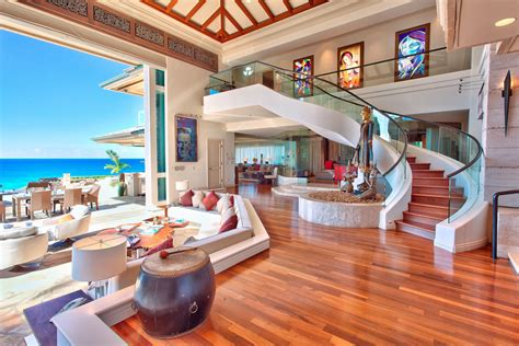 Oceanfront Luxury Vacation Homes Luxury Beachfront Estate In Idesignarch Interior Design Architecture Interior