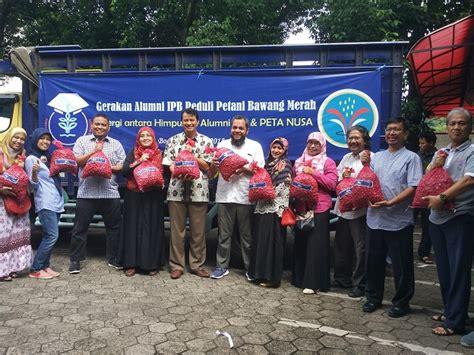 Harga Bungkil Kedelai Terbaru gerakan peduli petani bawang wujud komitmen alumni ipb
