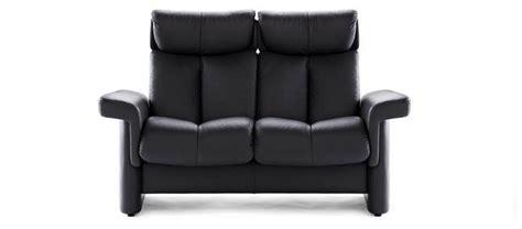 stressless legend high back modern recliner leather sofa