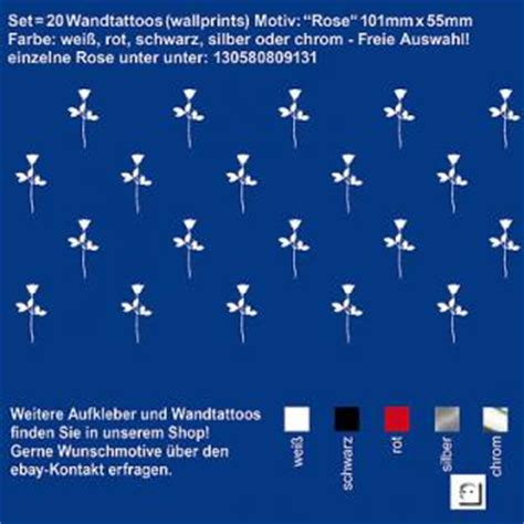 Autoaufkleber Depeche Mode Violator Rose by Aufkleber Auto Depeche Mode G 252 Nstig Online Kaufen Yatego