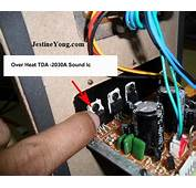 No Sound In 3 Channel Subwoofer System  Electronics