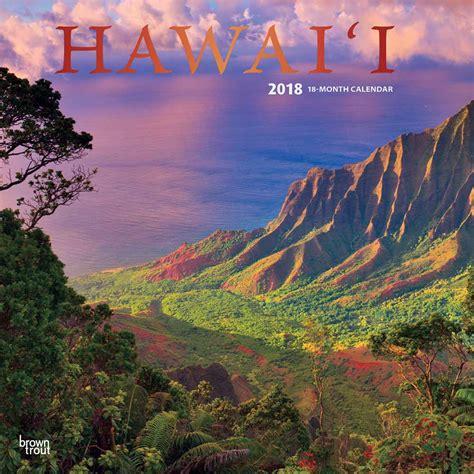 Calendar 2018 Hawaii Hawaii Calendar 2018