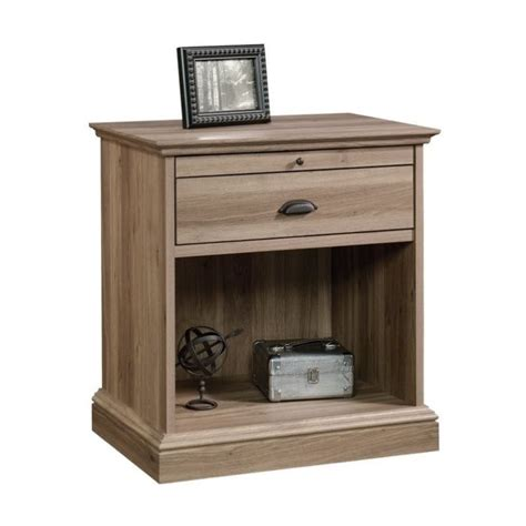 L For Nightstand Nightstand In Salt Oak 418705