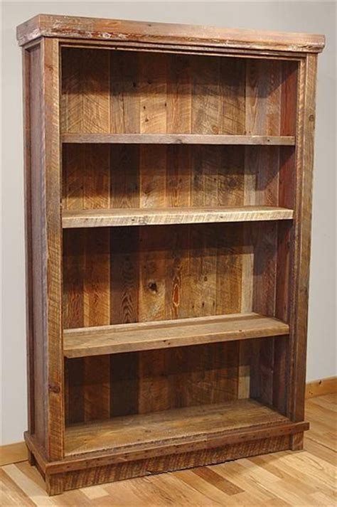 17 best ideas about rustic bookshelf on