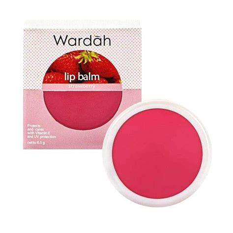 Harga Lip Wardah Harga Lip Wardah jual wardah lip balm strawberry harga