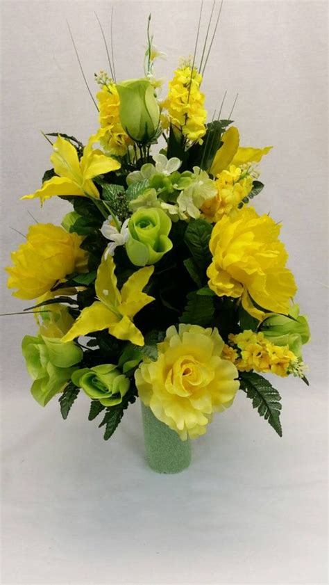 25 best ideas about cemetery flowers on