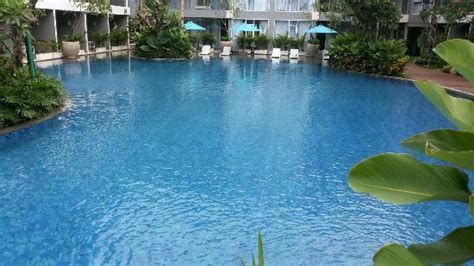Nice Dining Rooms large swimming pool picture of ramada encore bali