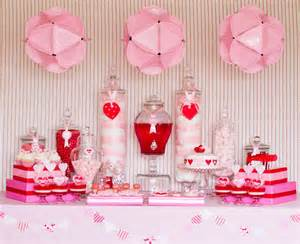 Valentines Day Table swanky chic fete valentine s day dessert tables