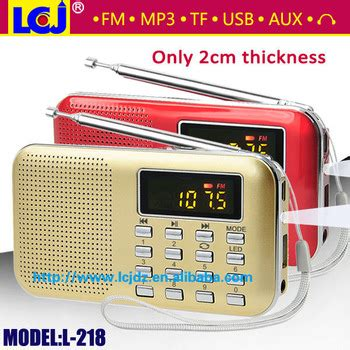 Speaker Advance Tp 200 Speaker Portable Radio Slo Limited l 218 manual portable mini speaker with fm radio usb input
