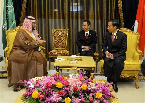 Karpet Di Arab Saudi foto kunjungan jokowi ke arab saudi