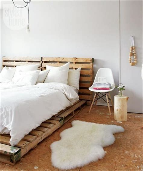 diy simple pallet bed frame diy easy wood pallet bed frame forest