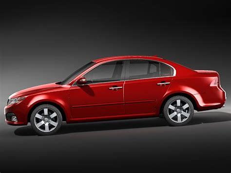 Kia Optima New Model Kia Optima 2009 3d Model Max 3ds Cgtrader