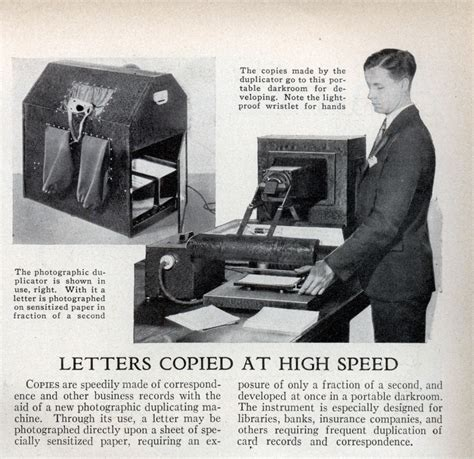 Complaint Letter For Xerox Machine Letters Copied At High Speed Modern Mechanix