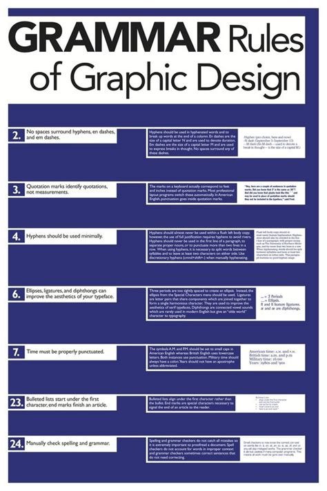 design poster series rules of graphic design poster series by jeremy moran via