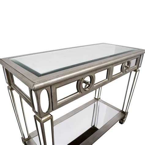 mirrored sofa table furniture 83 off monarch furniture monarch furniture mirrored