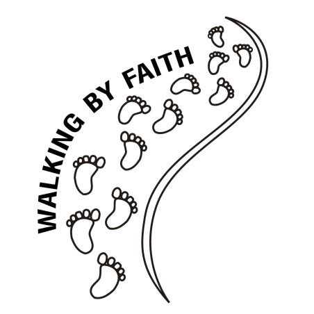 faith clipart walking by faith clipart