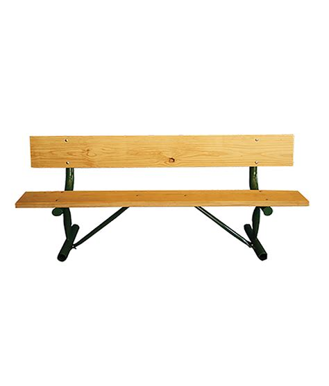 a bench great outdoors direct 187 portable park bench monster