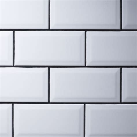 Large White Wall Tiles Bathroom by Metro White Wall Tiles 10 X 20cm Stonetrader Co Uk