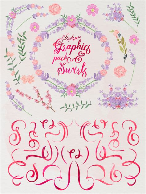 wedding fonts vietdesigner maghrib mira script and graphic watercolor and swirls