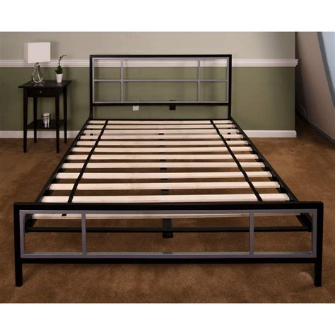 metal size bed frame lincoln square size metal bed frame hbedlinc fl