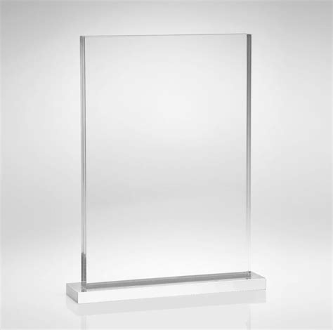 clear plastic sheet for table top free standing clear table top plastic poster holder