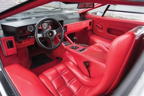Interior Lamborghini Countach LP5000 S Quattrovalvole