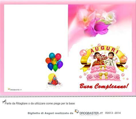 lettere d di buon compleanno biglietto da stare gratis in occasione compleanno
