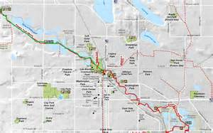 poudre trail map foot trails fresh air fort collins