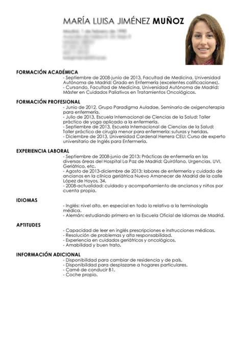 pagina para hacer una hoja de vida c 243 mo hacer una hoja de vida para conseguir empleo 6 pasos