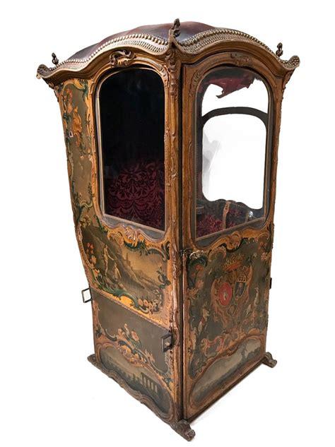 chaise a porteur chaise 224 porteur au vernis martin 224 fond d or