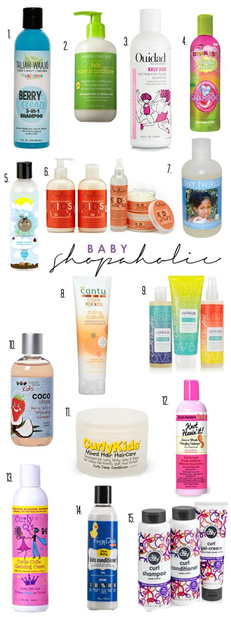south baby hair care products top 15 hair care brands for curly and haired babies