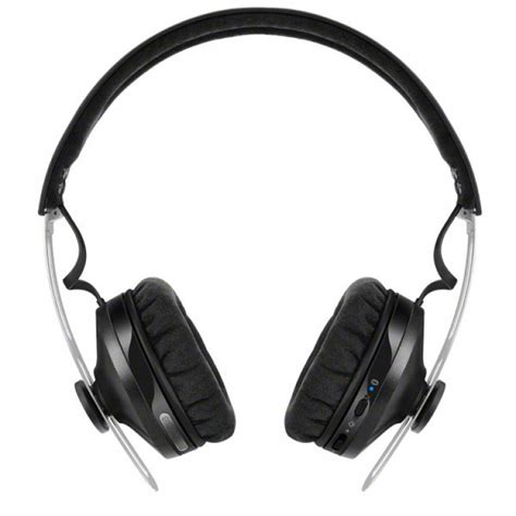 sennheiser momentum headphones sennheiser momentum wireless on ear headphones in black m2oebt