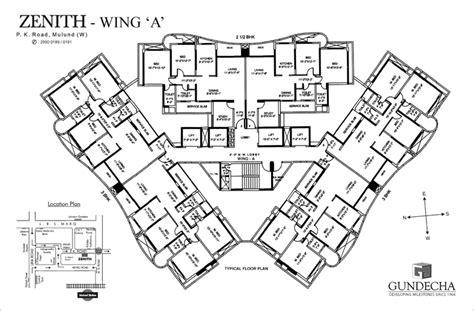 zenith floor plan zenith floor plan gundecha developing milestones since 1966
