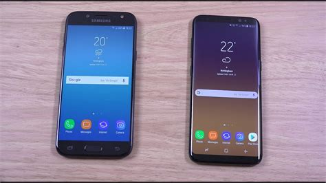 Samsung S6 Vs J7 Pro samsung galaxy j5 pro 2017 vs galaxy s8 speed test